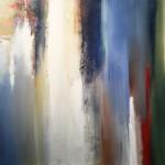 """FUSION acrylic on canvas 40"""" x 60"""""""