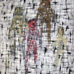 """PRESENCIA 1 oil on canvas 58"""" x 50"""""""