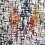 """PRESENCIA 2 oil on canvas 58"""" x 50"""""""