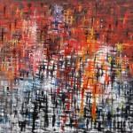"""PRESENCIA 4 oil on canvas 58"""" x 50"""""""