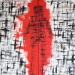 """PRESENCIA DIVIDIDA oil on canvas dyptic 57"""" x 96"""""""