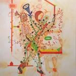 """JUBILEE 3 oil on canvas 40"""" x 30"""""""