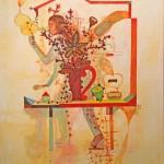"""JUBILEE 4 oil on canvas 40"""" x 30"""""""
