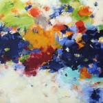 """THE SHEPHERD'S WAY II mixed media on canvas 36"""" x 72"""""""