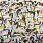 """CREATION oil on canvas 48"""" x 60"""""""