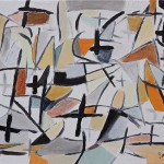 "META DE LA PALABRA oil on canvas 18"" x 24"""
