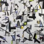 """MOTIVOS oil on canvas 48"""" x 60"""""""