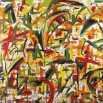 """ORIGEN oil on canvas 48"""" x 60"""""""