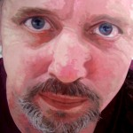"JOHN oil on canvas 36"" x 48"""