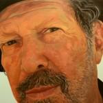 """KINKY FRIEDMAN oil on canvas 36"""" x 48"""""""