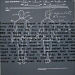 """AUTOPSY acrylic on canvas 40"""" x 40"""""""