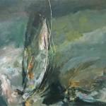 """ARTEMISIA'S PASSAGE oil on canvas 31.25"""" x 42"""""""