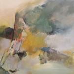 "ARTEMISIA'S ROCK oil on canvas 31.5"" x 41.25"""