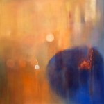 """IN THE BEGINNING oil on canvas 55"""" x 55"""""""