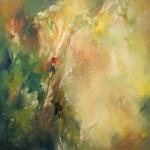 "EDEN oil on canvas 48"" x 48"""