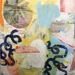 """PROMISE LAND mixed media on panel 36"""" x 29.5"""" SOLD"""
